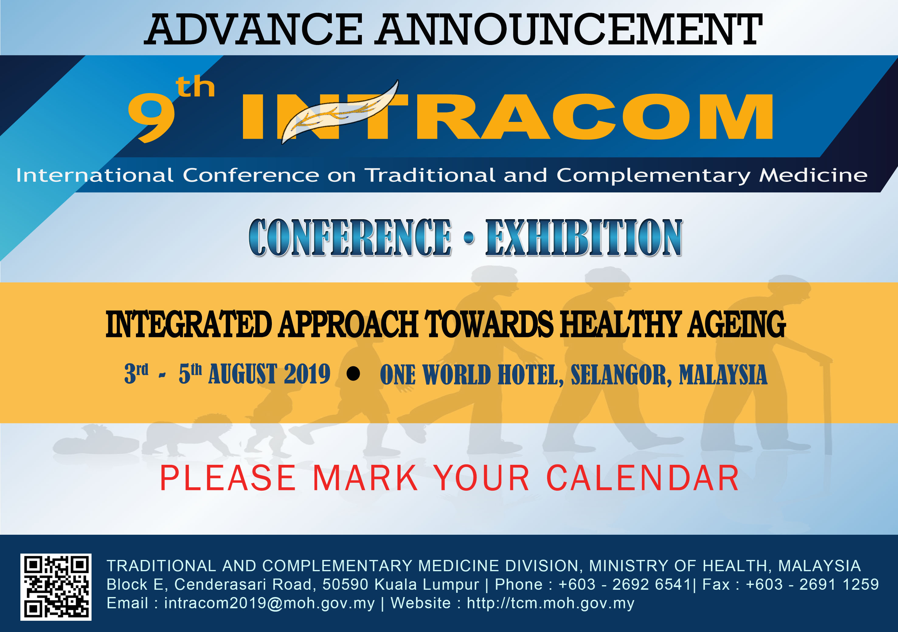 Advance Announcement For 9th Intracom 2019 Integrated Approach Towards Healthy Ageing